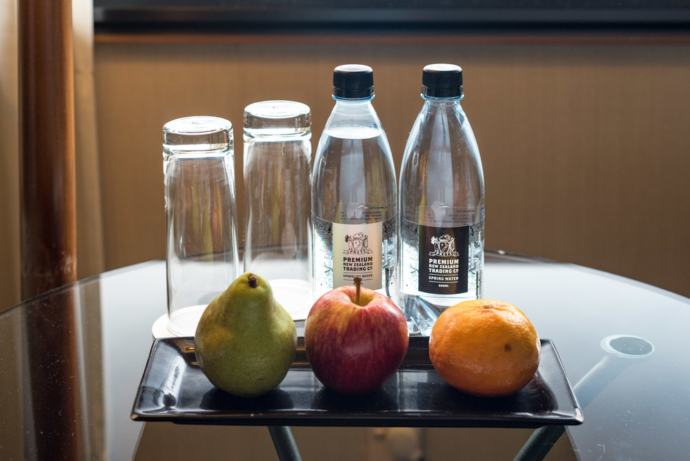 Welcome Amenities Superior Room - The Langham, Auckland