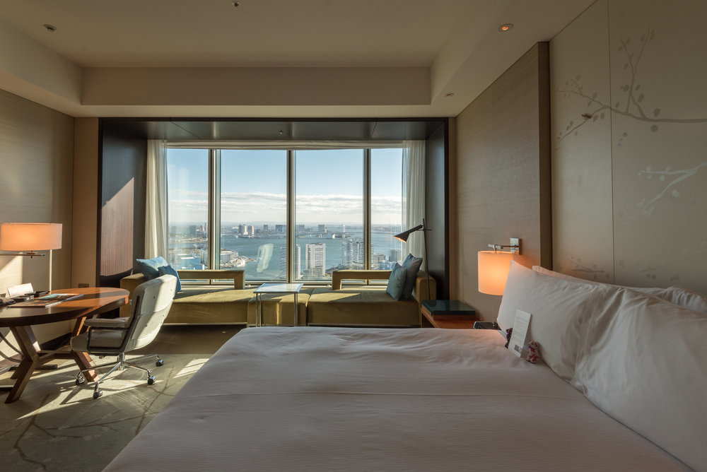 Bedroom    King Executive Room Bay View - Conrad Tokyo