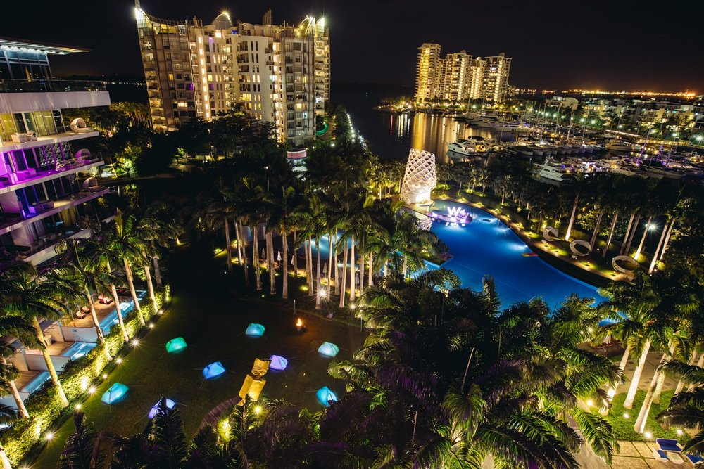 Valentine's Day (2017) at W Singapore | Photo Credit: W Singapore - Sentosa Cove