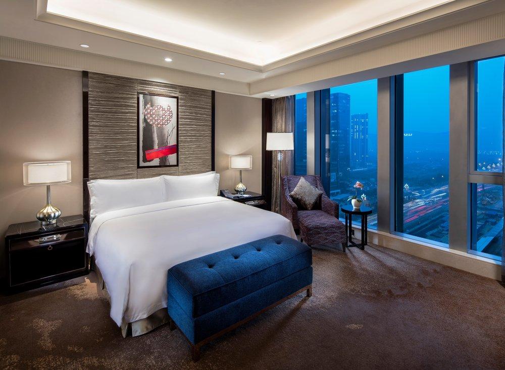 Guest Room | Photo Credit: Fairmont Chengdu