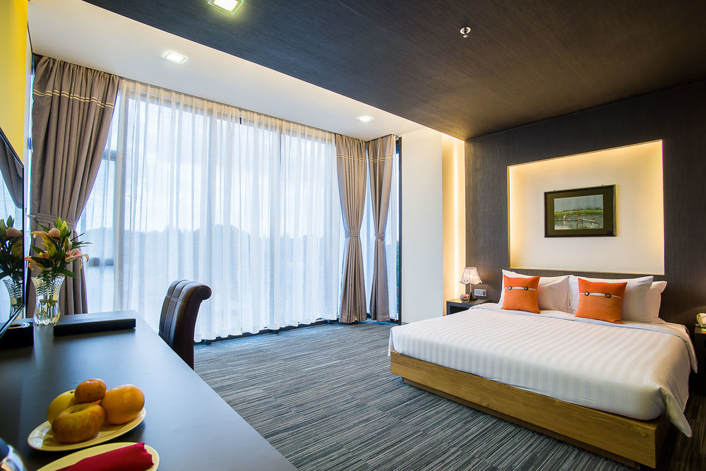 Deluxe Room at TRYP Yangon | Photo Credit: Wyndham Hotel Group