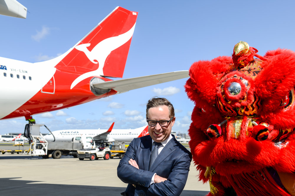 Alan Joyce | Photo Credit: Qantas