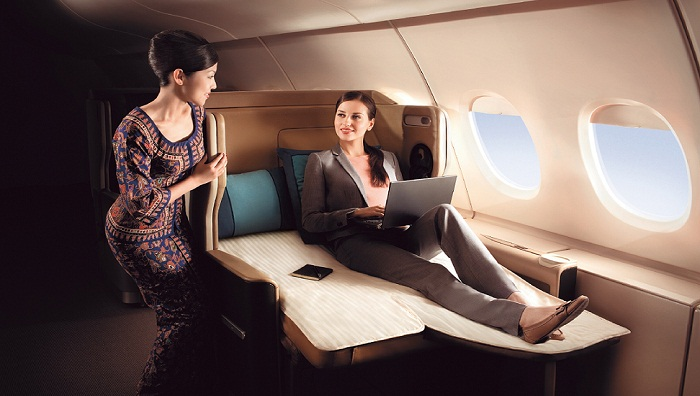 First Class | Photo Credit: Singapore Airlines