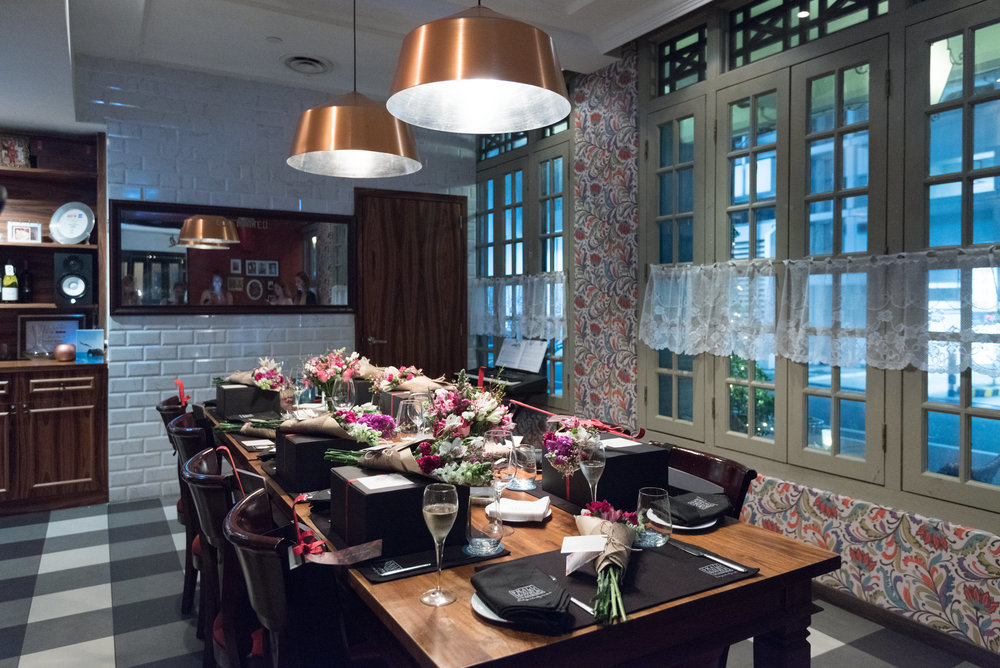 Private Dining Room  Casa Tartufo - The Scarlet Singapore