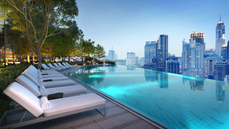 Swimming Pool | Photo Credit: Park Hyatt Bangkok