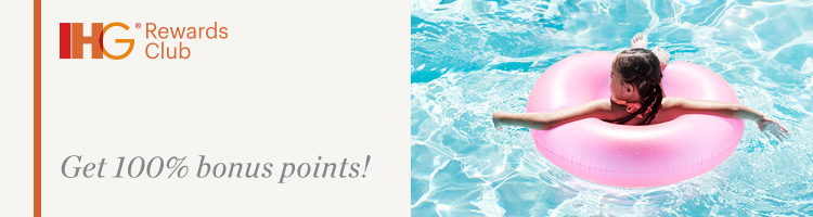 Get Double IHG Rewards Club Points | Photo Credit: IHG Rewards Club