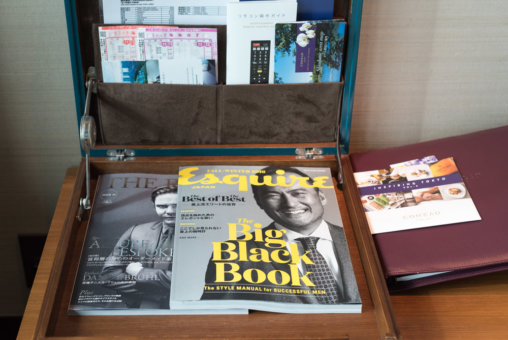 Magazines King Executive Room Bay View - Conrad Tokyo