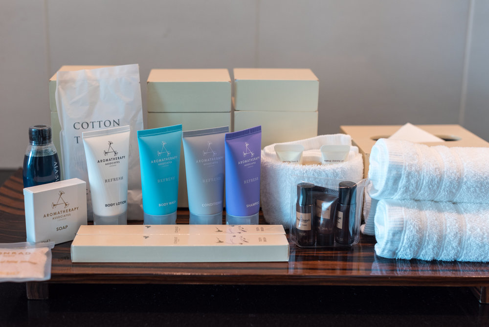 Bath Amenties by Aromatherapy Associates King Executive Room Bay View - Conrad Tokyo