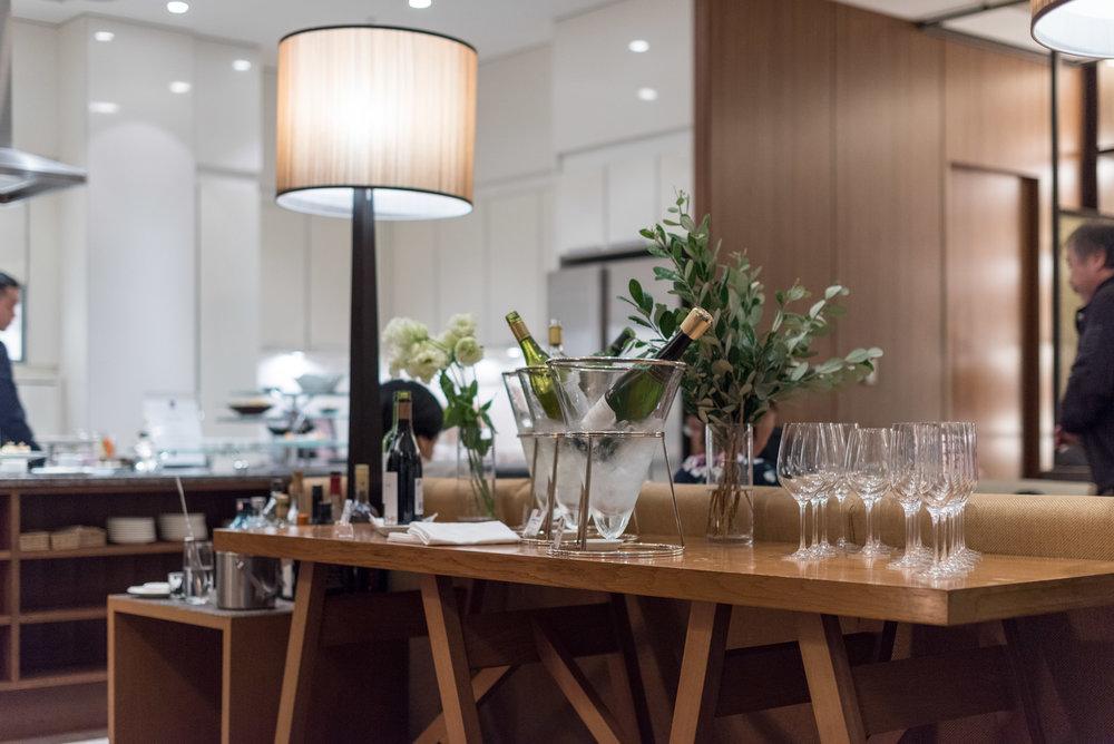Executive Lounge Conrad Tokyo