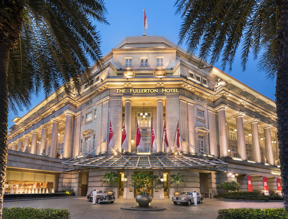Hotel Facade | Photo Credit: The Fullerton Hotel