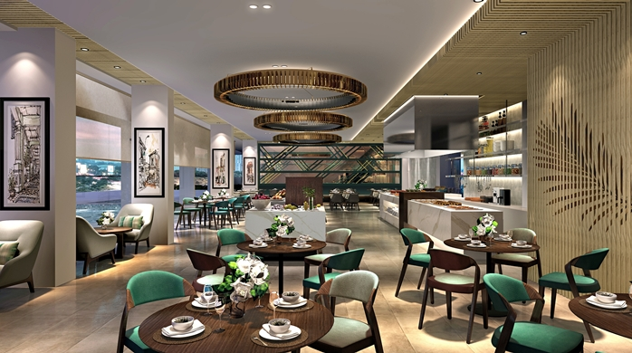 Restaurant | Photo Credit: Hilton Garden Inn Singapore Serangoon