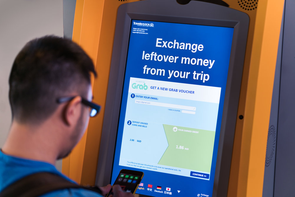 Convert Leftover Currency at Changi Airport | Photo Credit: TravelersBox