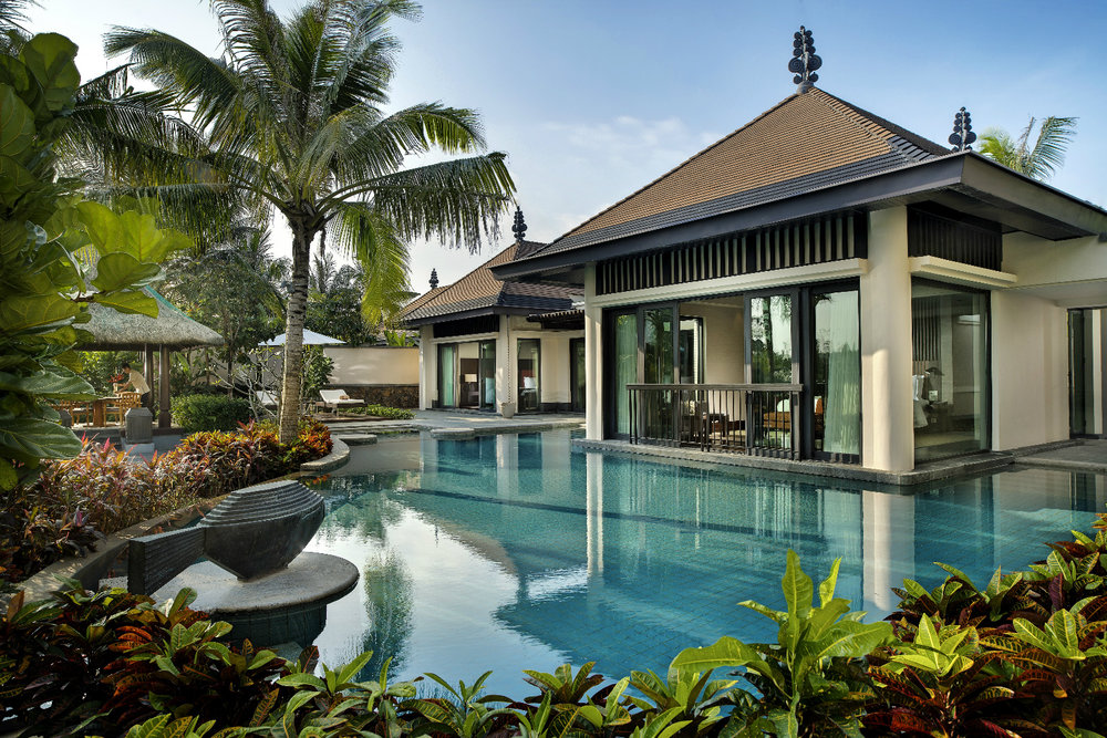 Grand Pool Villa | Photo Credit: Raffles Hainan