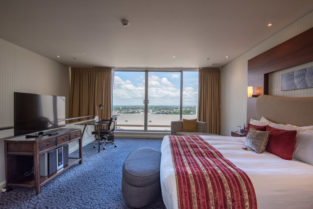 Bedroom (Upper Level)  Executive Suite - Crowne Plaza Auckland