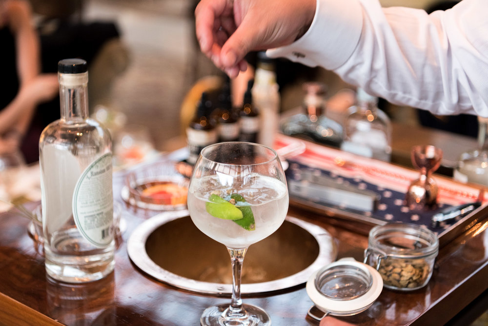 Ransom Gin (S$12++) Chihuly Lounge - The Ritz-Carlton, Millenia Singapore