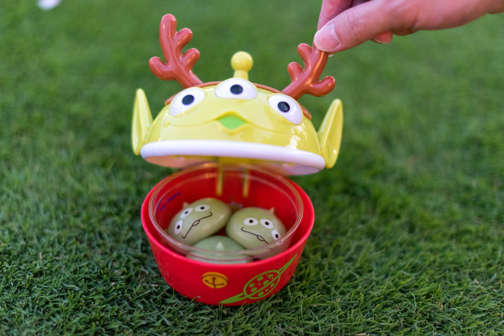 Little Green Alien Mochi Dumpling Tokyo Disneyland