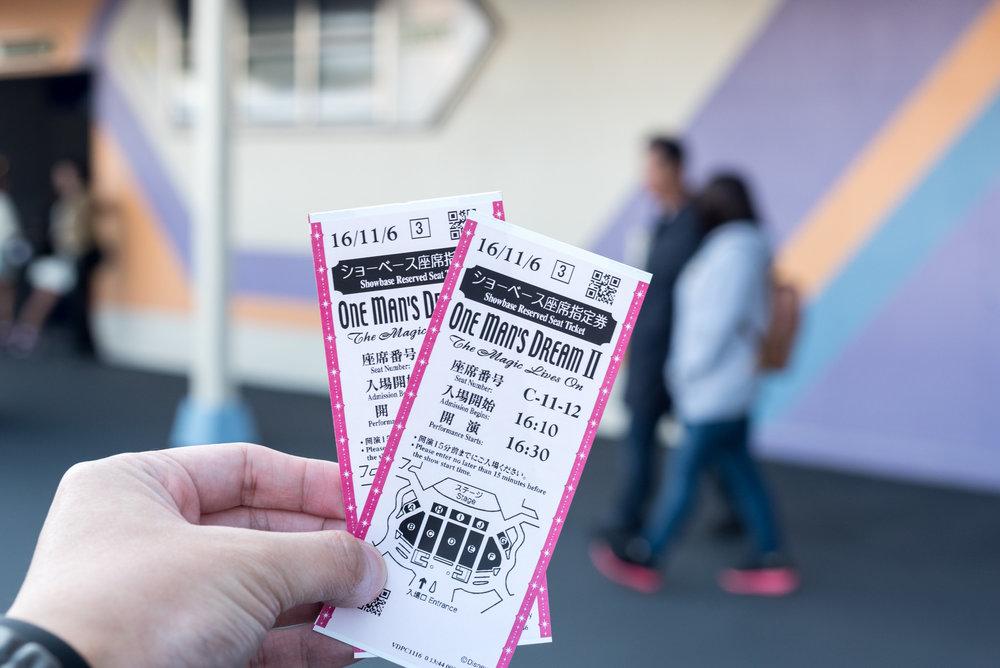 Lottery System Tokyo Disneyland