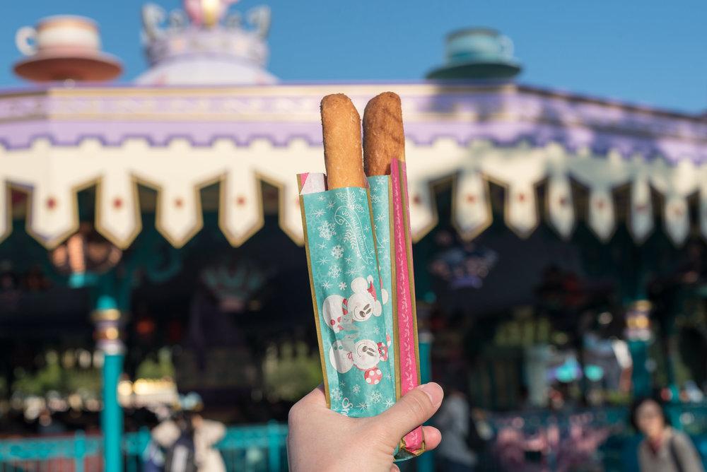 Doughnut Sticks Tokyo Disneyland