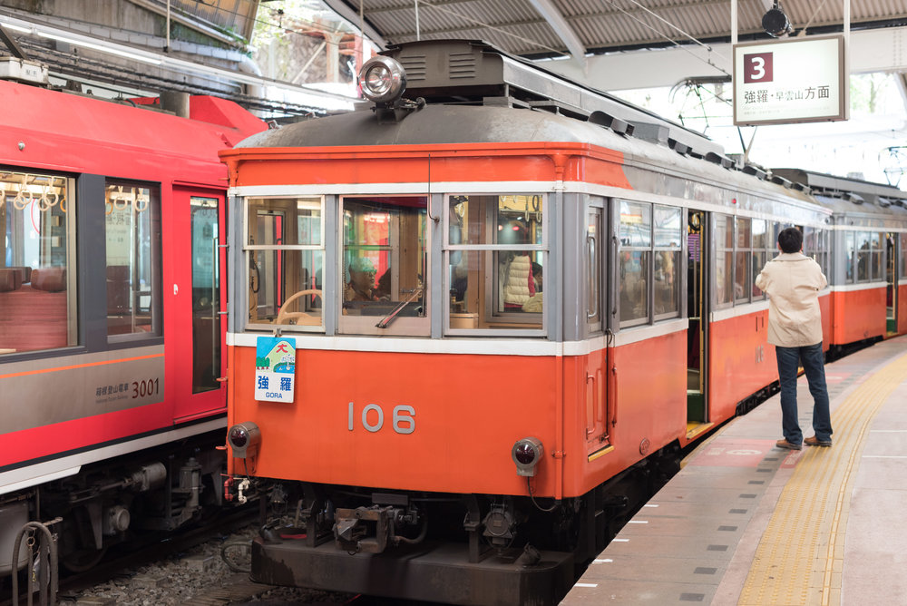 Hakone-Yumoto Station to Gora Station via Hakone Tozan Train Travel Guide for Day-trip to Hakone from Tokyo