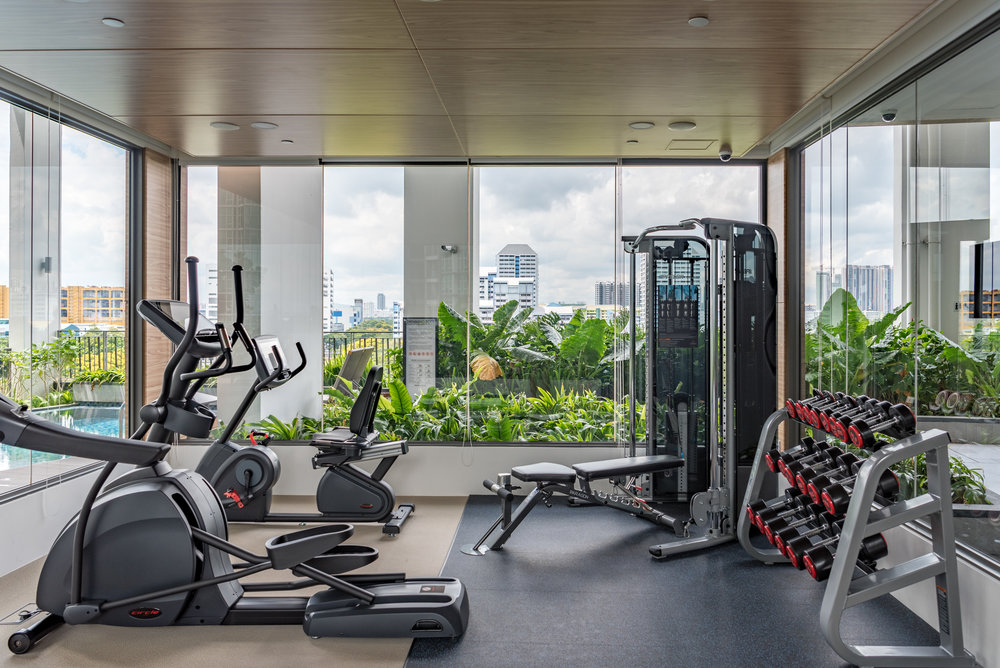 24-hour Gymnasium Oasia Residence, Singapore