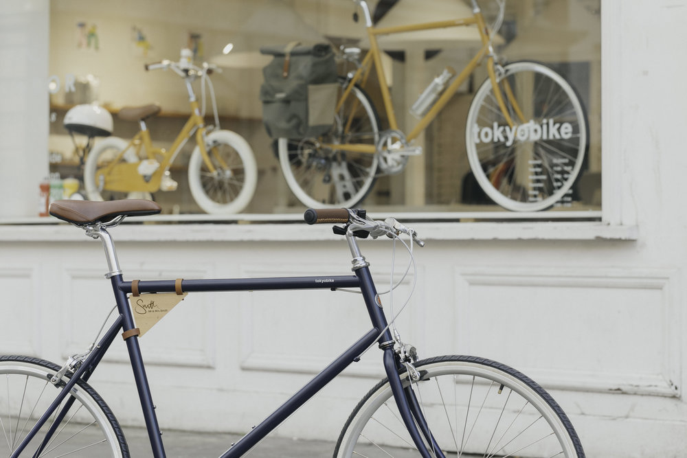 Free Bike Hire and City Guides | Photo Credit: Tokyobike