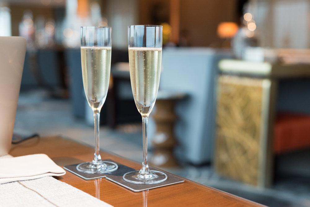 All-day Louis Roederer Champagne Ritz-Carlton Club - The Ritz-Carlton, Hong Kong