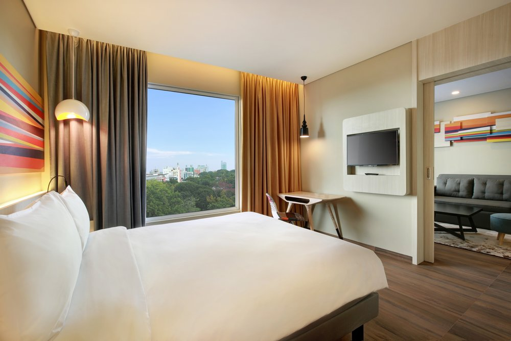 Bedroom | Photo Credit: ibis Styles Makassar Sam Ratulangi
