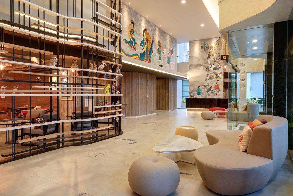Hotel Lobby | Photo Credit:ibis Styles Makassar Sam Ratulangi