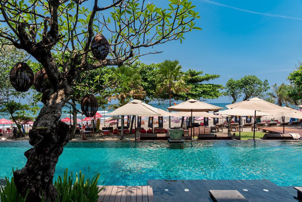 Infinity Pool Anantara Seminyak Bali Resort