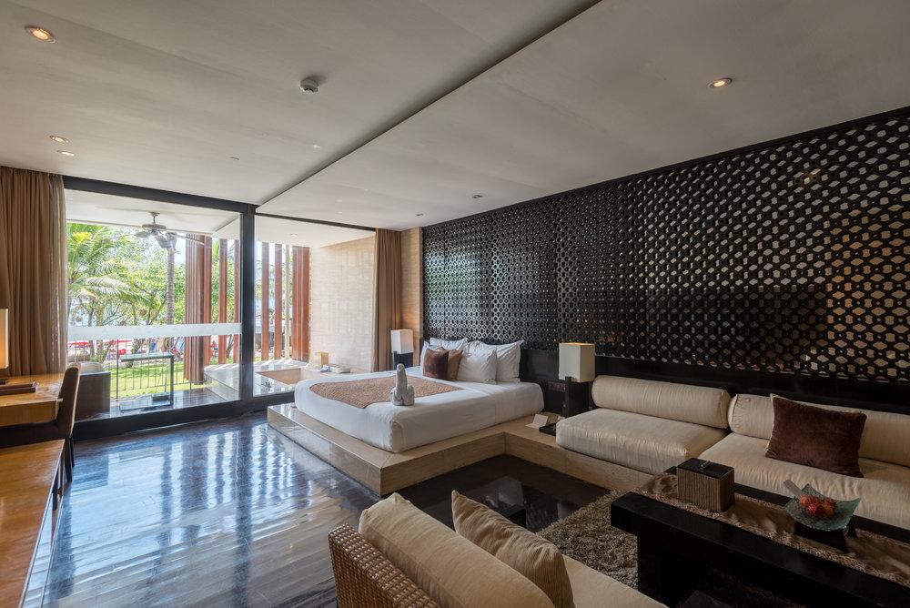 Bedroom Anantara Ocean Suite - Anantara Seminyak Bali Resort
