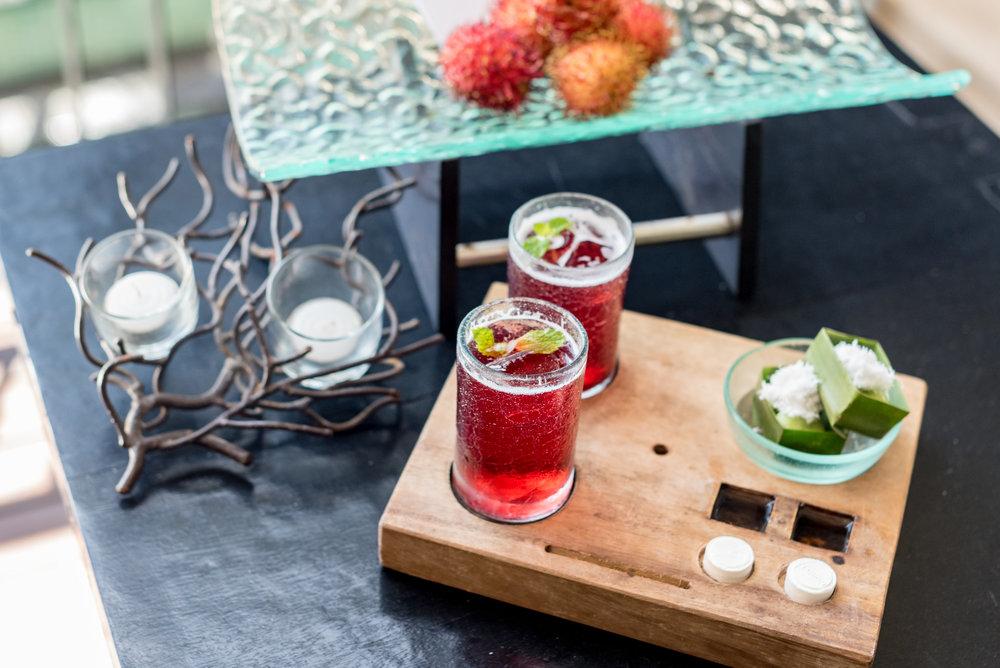 Welcome Drinks and Amenities Anantara Ocean Suite - Anantara Seminyak Bali Resort