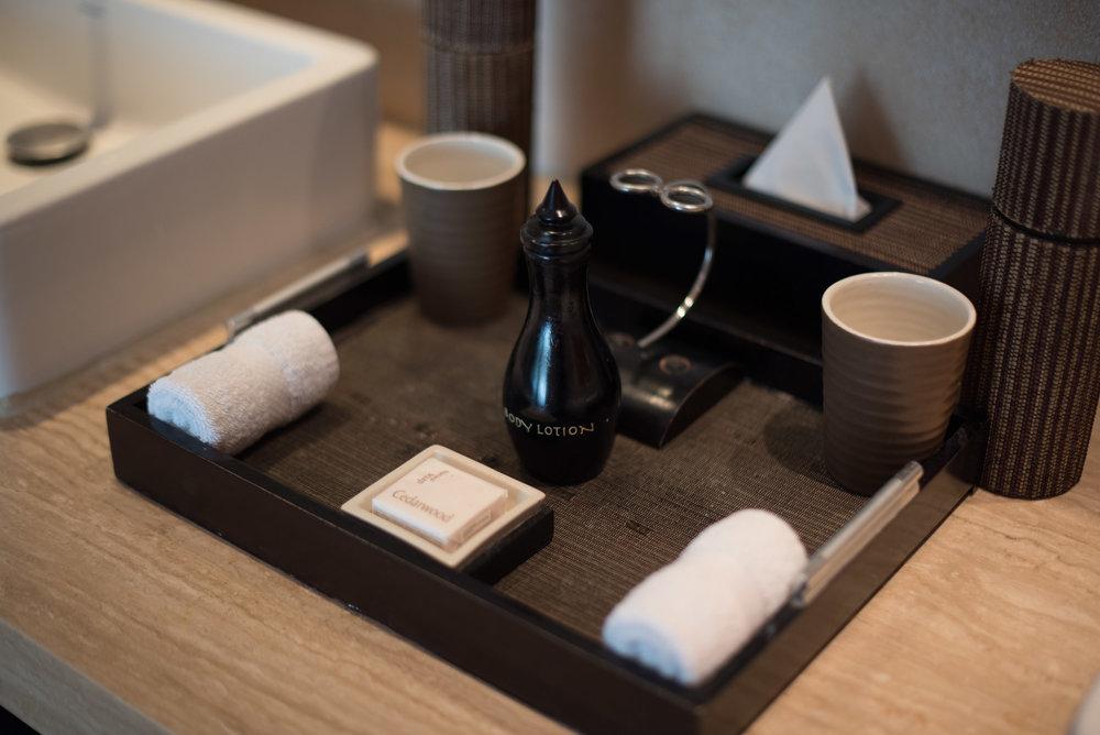 Bath Amenities Anantara Ocean Suite - Anantara Seminyak Bali Resort