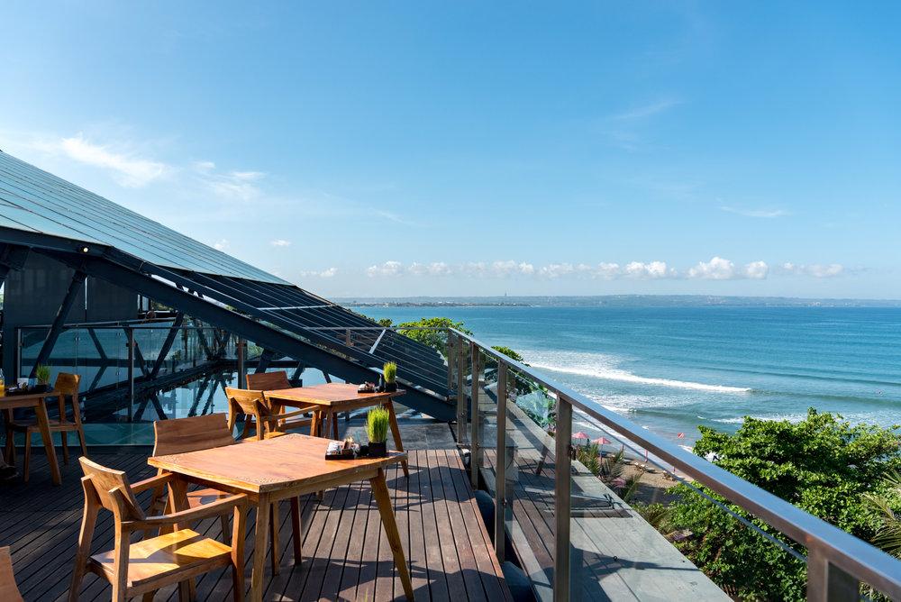 Outdoor Seating MoonLite Kitchen and Bar - Anantara Seminyak Bali Resort