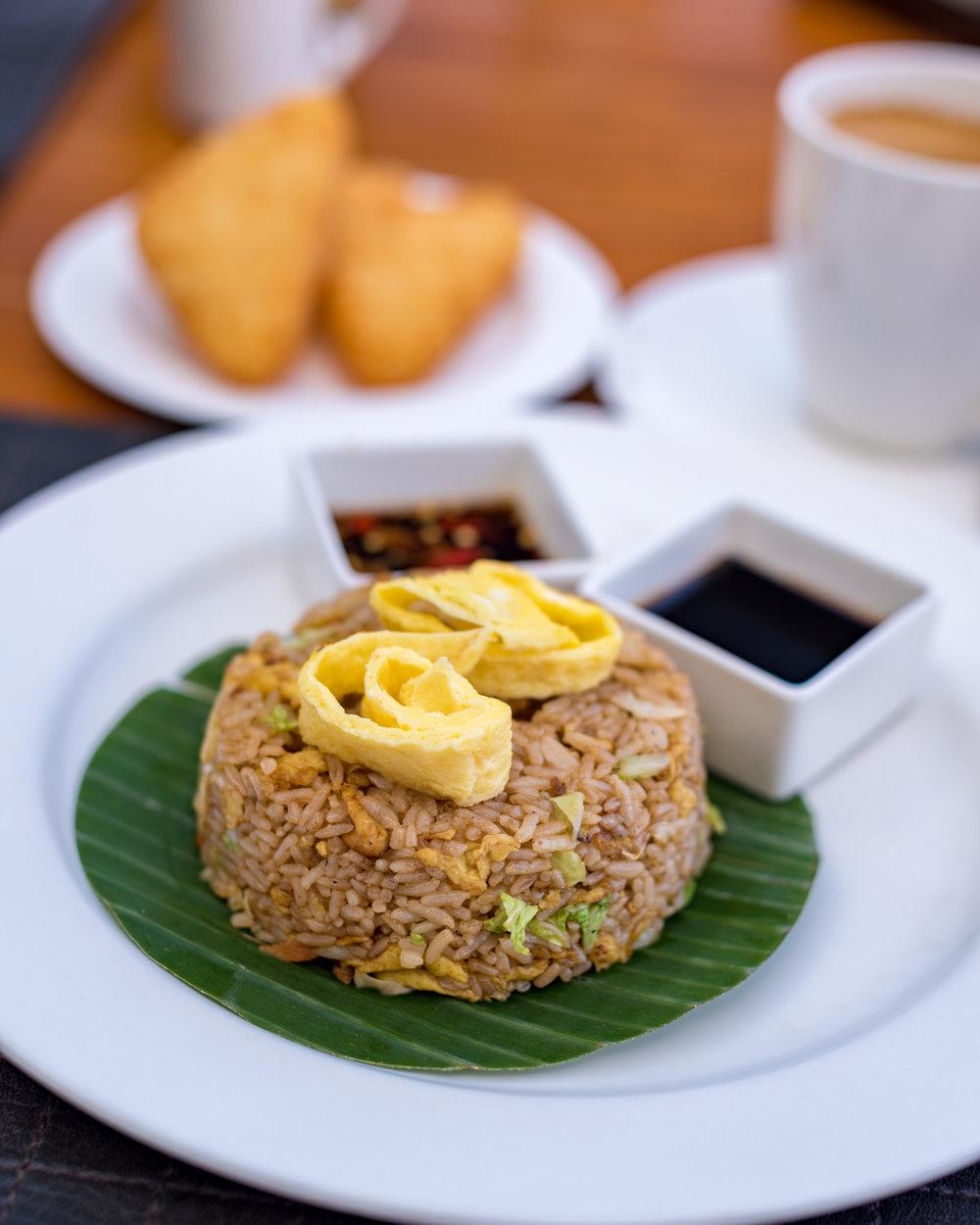 Nasi Goreng - Breakfast Buffet MoonLite Kitchen and Bar - Anantara Seminyak Bali Resort