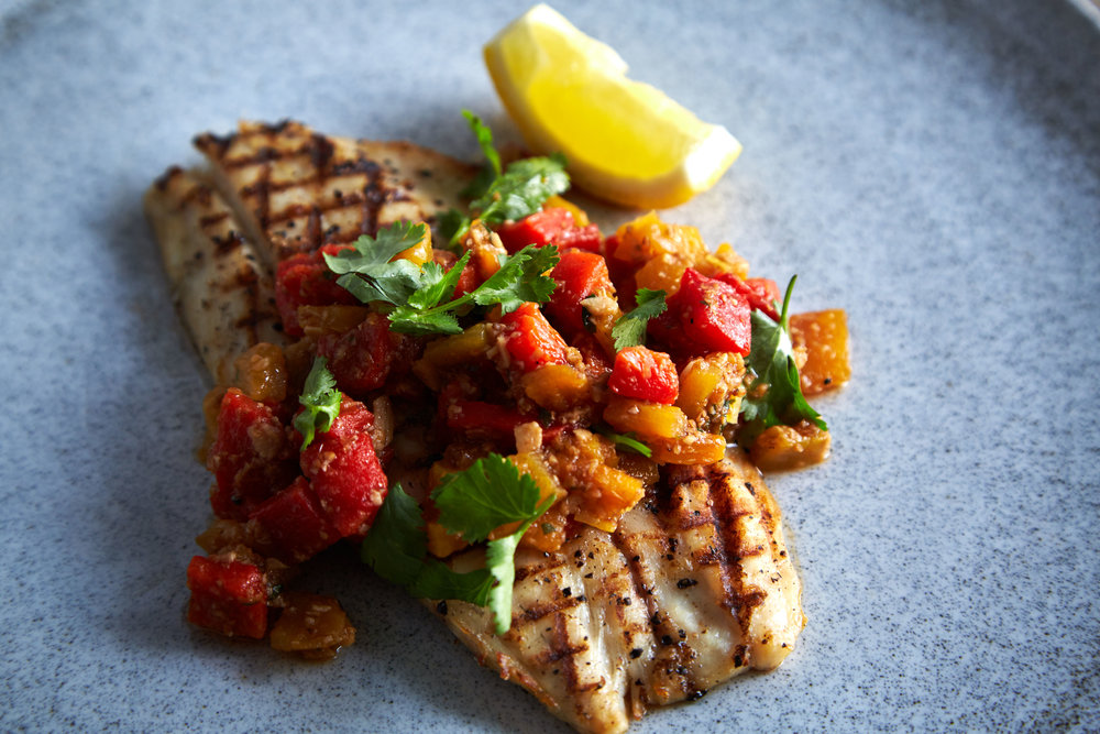 Attarine_Grilled Fish of the day Fillet with Roasted Paprika, Fried Garlic + Coriander.jpg