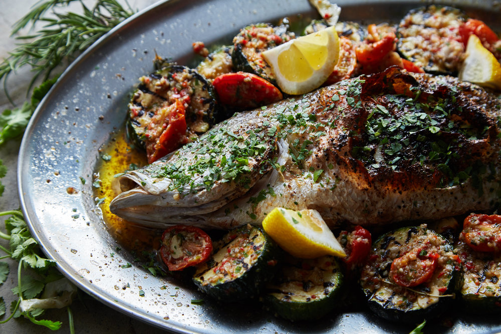 Attarine_Woodfired Fresh Fish of The Day stuffed with Lemon Spices served with Grilled Zucchini and Chermola Sauce (1).jpg