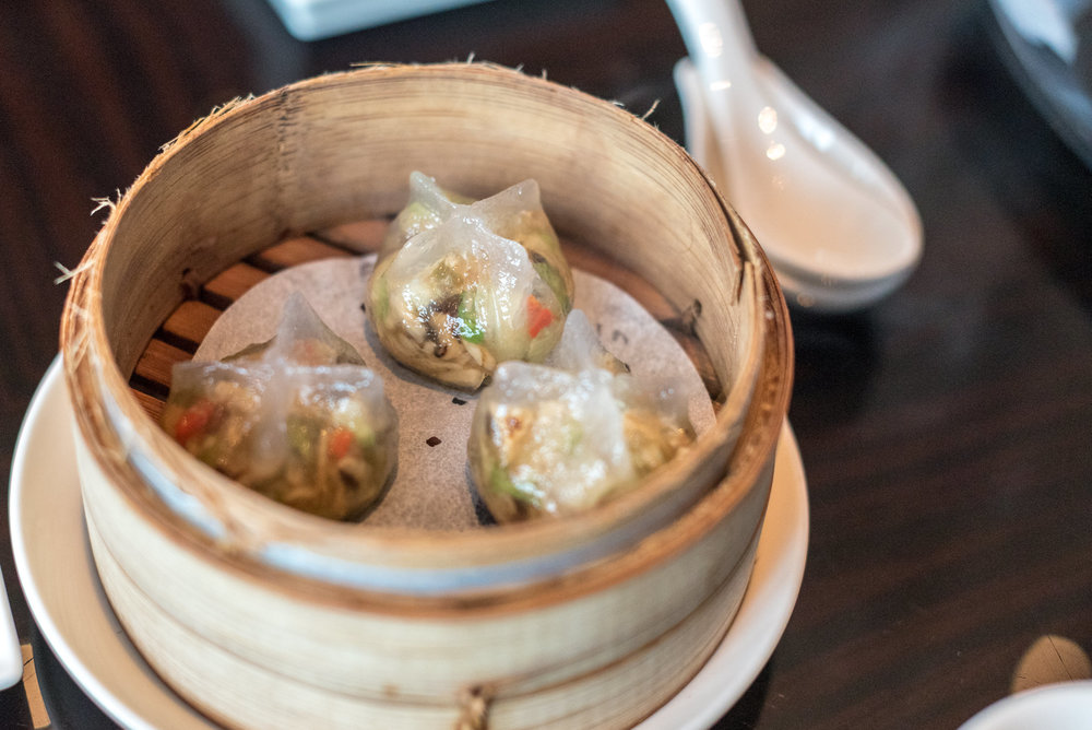 Formosa Mushroom Dumplings (NT$ 180+ for 3 Pieces)  YEN Chinese Restaurant - W Taipei