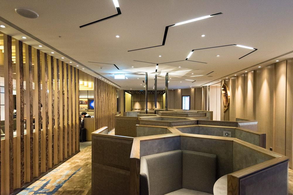 Honeycomb Seats  Plaza Premium Lounge (Terminal 1 Zone D) - Taipei Taoyuan International Airport