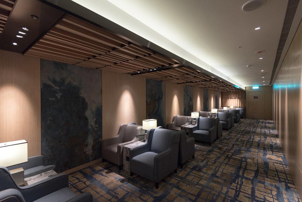 Comfortable Seats  Plaza Premium Lounge (Terminal 1 Zone D) - Taipei Taoyuan International Airport