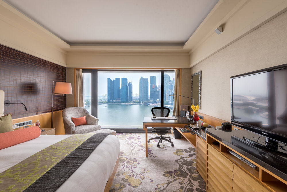 Bedroom Club Marina Bay Room - Mandarin Oriental, Singapore