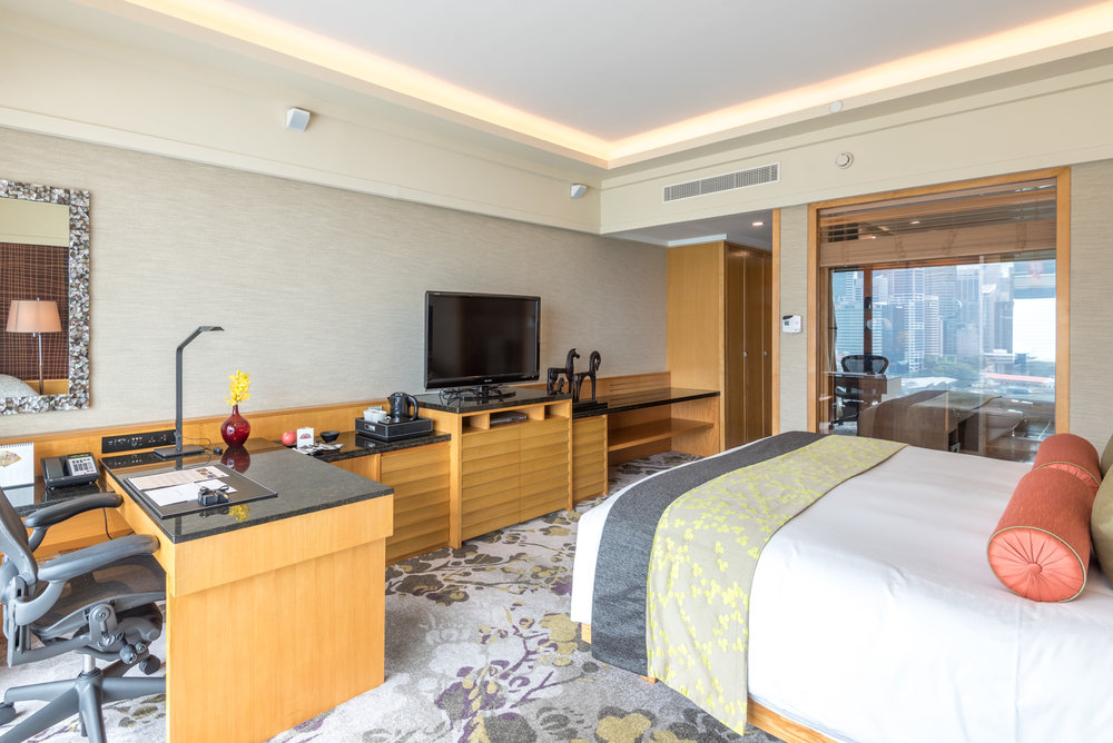 Bedroom Club Marina Bay Room - Mandarin Oriental, Singapore