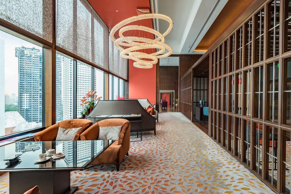 Refurbished Club  The Oriental Club - Mandarin Oriental, Singapore