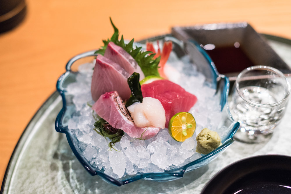 Five Types of Sashimi ibuki by Takagi Kazuo - Shangri-La's Far Eastern Plaza Hotel, Taipei