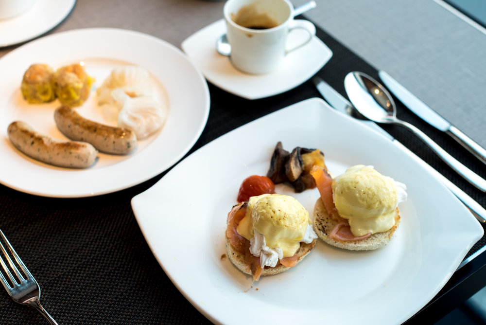 Breakfast  The Oriental Club - Mandarin Oriental, Singapore