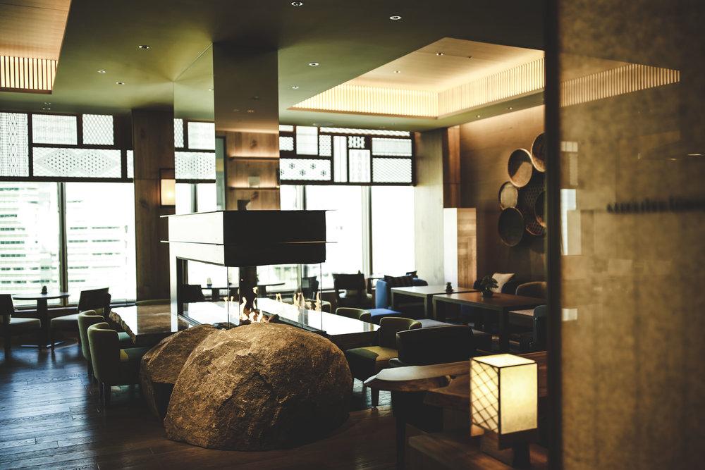 Executive Lounge | Photo Credit: Conrad Tokyo