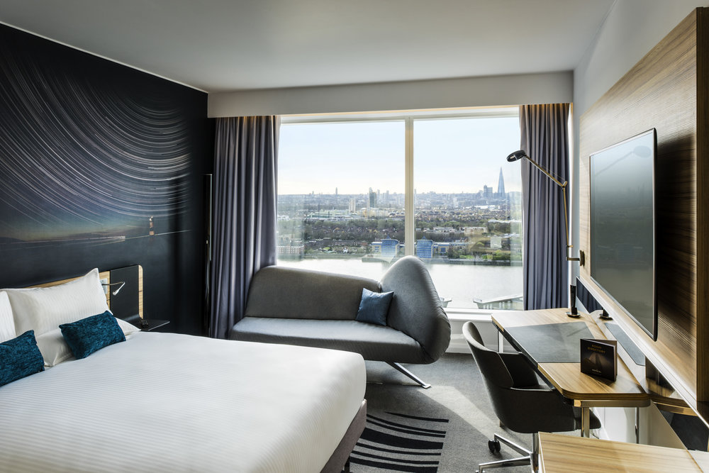 Bedroom | Photo Credit: Novotel London Canary Wharf