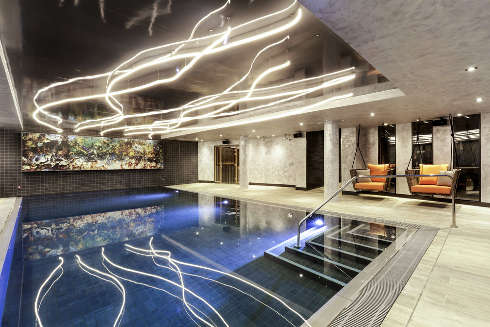 Indoor Swimming Pool | Photo Credit: Novotel London Canary Wharf