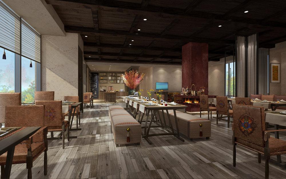 Executive Lounge | Photo Credit: Hilton Jiuzhaigou