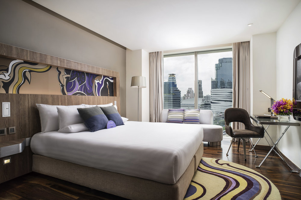 Guest Room Lobby | Photo Credit: Novotel Bangkok Sukhumvit 20