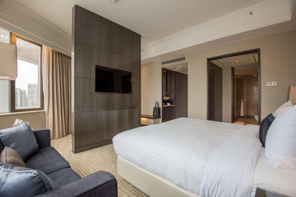 Bedroom  Studio Room - Singapore Marriott Tang Plaza Hotel